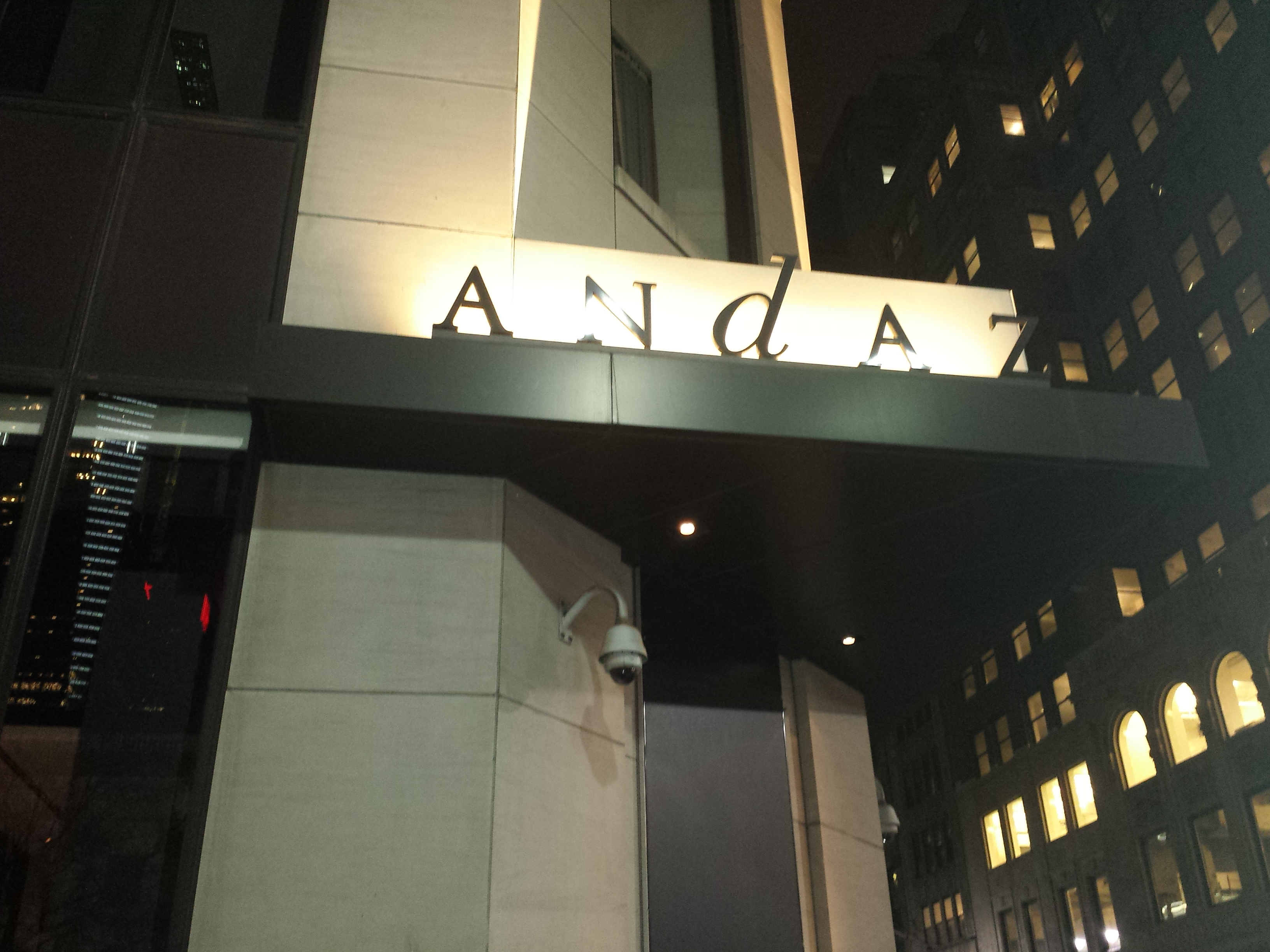 Andaz 5th ave terrace suite adnan n samia for Terrace meaning in urdu